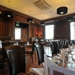 Clubroom Portrush Atlantic Hotel set for a private party