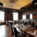 Clubroom Portrush Atlantic set for private function