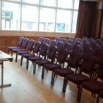 Antrim Suite Portrush Atlantic set in theatre style for meeting