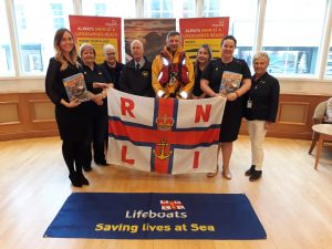 RNLI on board for 2018 at Portrush Atlantic Hotel
