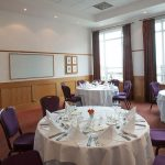 Conference room 1 Portrush Atlantic set for private dining